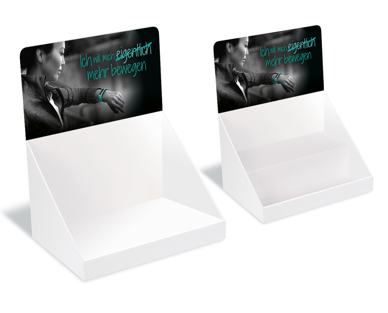 Thekendisplay A5 quer